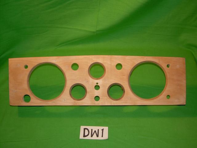 Instrument Panel, Jaguar XK120 OTS, #DW1, New