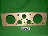 Wood Instrument Panel, Late Jaguar XK120 OTS, #DW2, New dashboard
