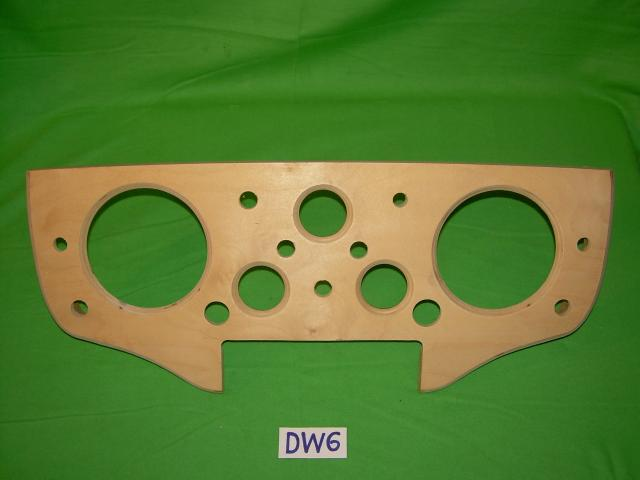 Instrument Panel, Jaguar XK140 DHC & FHC, #DW6, New