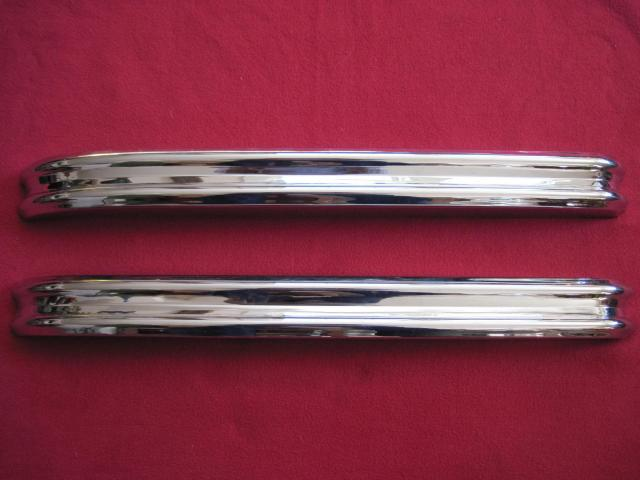 Front Bumper Pair, Jaguar XK120, New