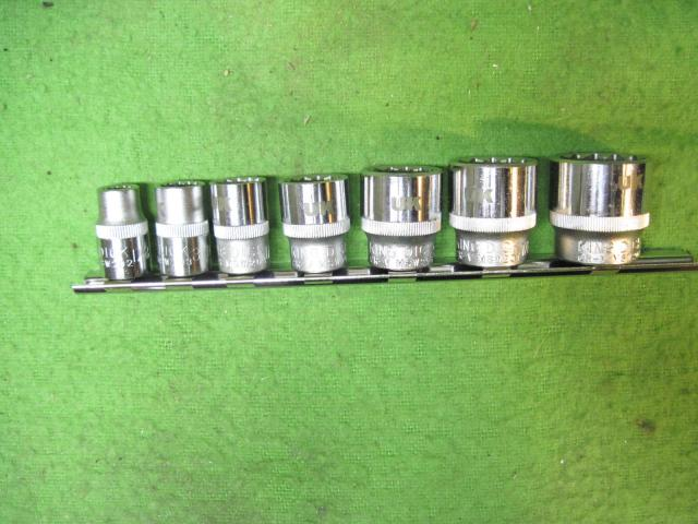 "Whitworth 3/8""Drive King Dick Socket Set, New"
