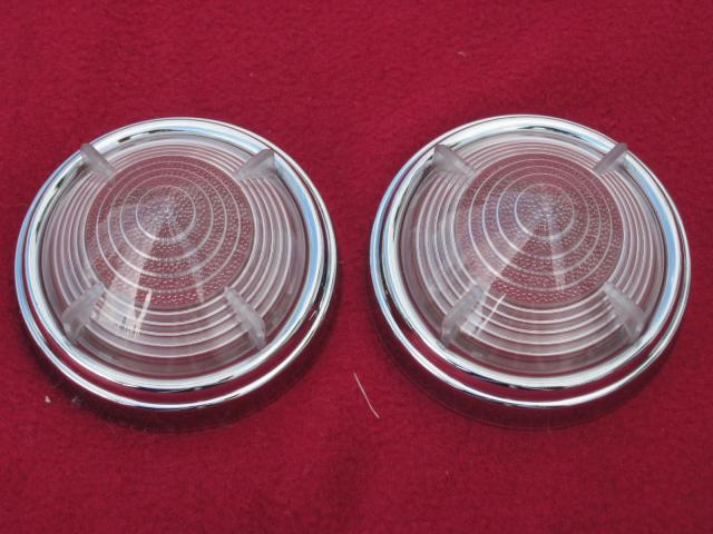 Lucas L539 Clear Lens & Rim Pair, New