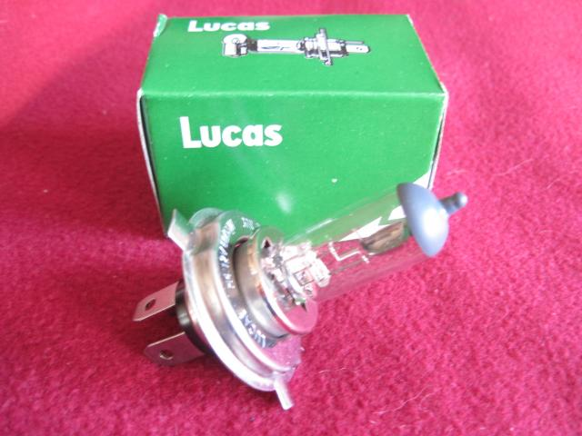 Lucas LLB472 H4 P43t-base Halogen Headlamp Bulb, New head lamp, headlight, head light