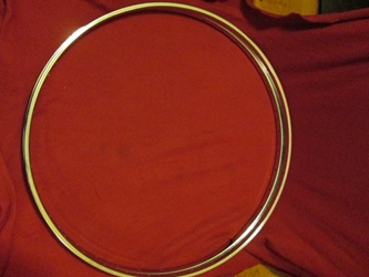 Sturmey-Archer Bicycle Rim Pair, 27 X 1-1/4, 36 hole, 1960s-70s, NOS
