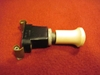 Lucas Illuminated Ivory Push-Pull Switch, NOS fog lamp, foglight, fog light, push pull