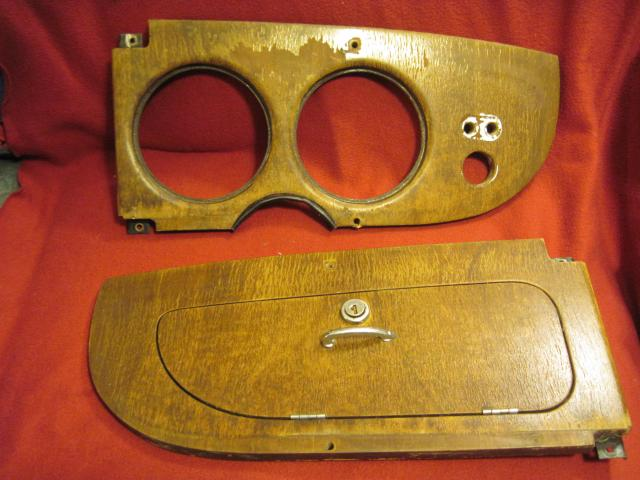 Walnut Dashboard Pair, Jaguar 420 Saloon, Original