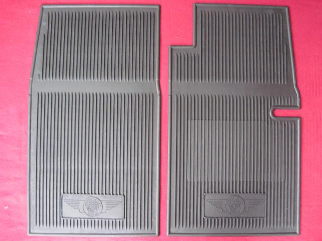 AMCO Rubber Floor Mat Pair, Austin-Healey Sprite, New
