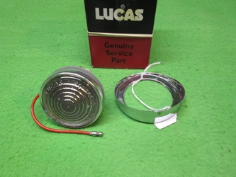 Lucas L461 52544 Lamp, Jaguar 3.4S, 3.8S, 420, Mark X, 420G, NOS