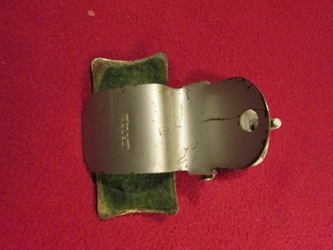 Terrys Bicycle Tennis Racket Clip, 1940s or 1950s, Original