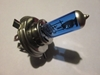 Lucas-style LLB472 H4 P43t-base Blue Halogen Headlamp Bulb, New head lamp, headlight, head light