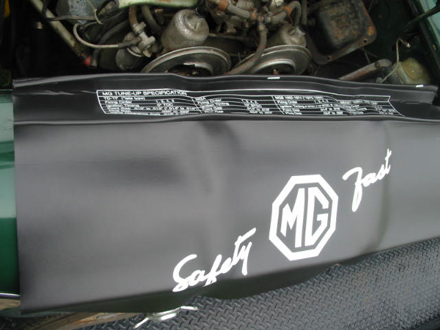 Fender Cover, MG, New