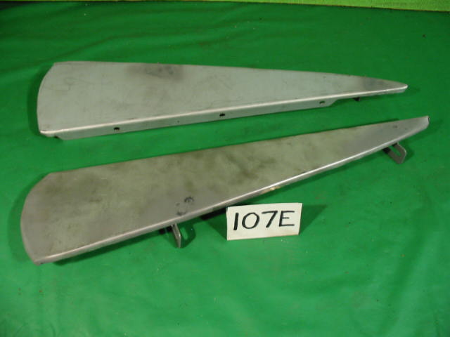 Front Bumper Plinth Pair, Jaguar XK150, #X107E, New