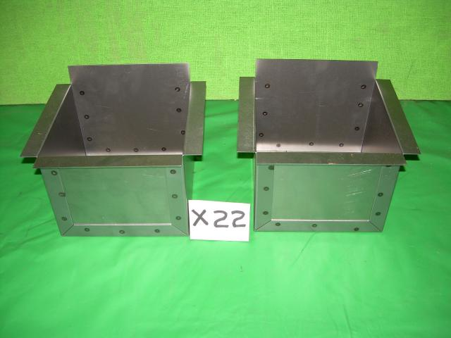 Battery Box Pair, Jaguar XK120, #X22, New