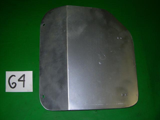 Aluminum Battery Door, Jaguar XK140 DHC & OTS, #X64, New