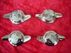Knock-off Spinners, MG Crest, 8 or 12 TPI, Set of 4, New Knock offs