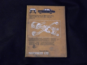 Mercedes 280 1968-1972 Autobook Workshop Manual