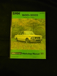 BMW 1600/2002/Ti Workshop Manual