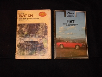 Fiat 124 Manuals  Clymer Publications