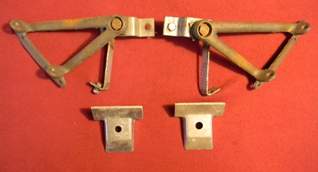 Ford Model A Rumble Seat Brackets