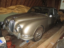 1966 Jaguar 3.8S Barn Find